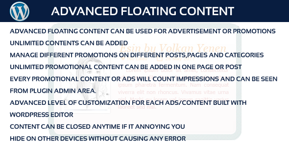 CodeCanyon Advanced Floating Content 9945856