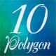 10 Polygon Background Part 02