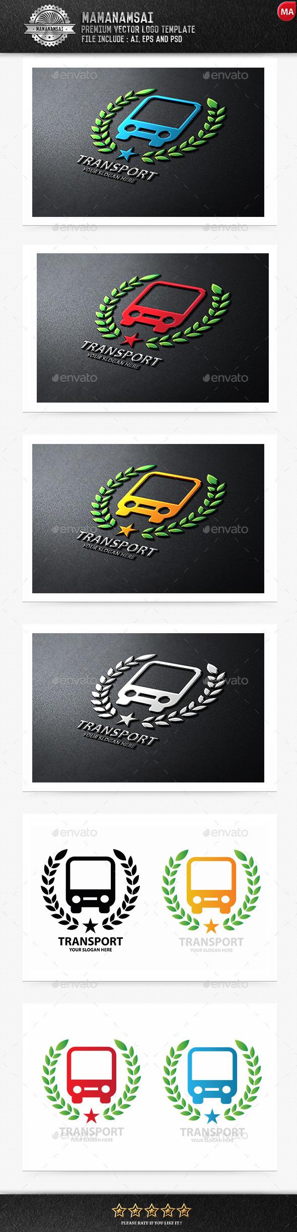 GraphicRiver Transport Logo 9962668