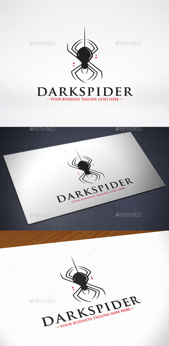GraphicRiver Spider Logo Template 9962828