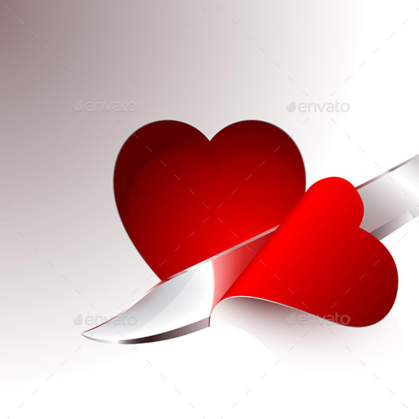 GraphicRiver Cut a Slice of Red Heart 9962890