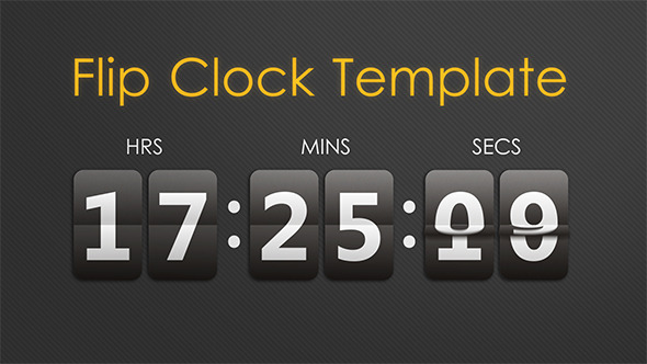 Flip Clock Template
