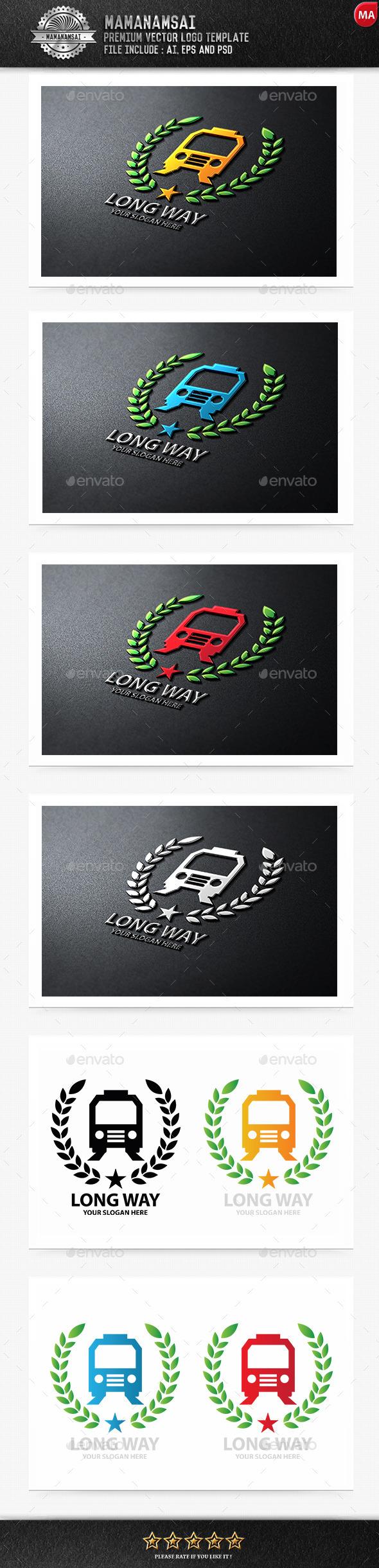 GraphicRiver Long Way Logo 9963364