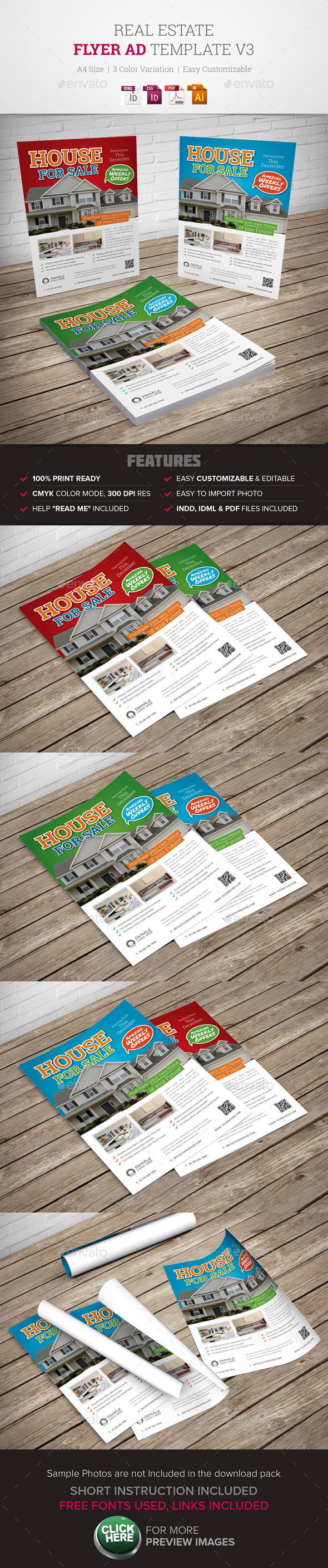 GraphicRiver Real Estate Flyer Ad v3 9963415