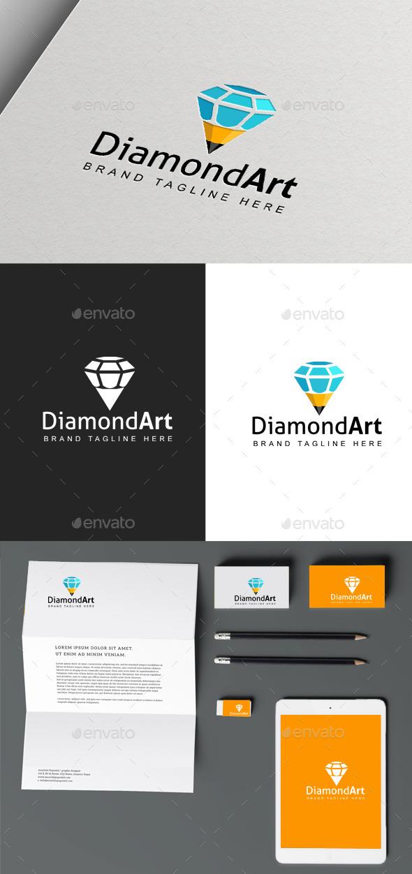 GraphicRiver Diamond Art logo 9963451