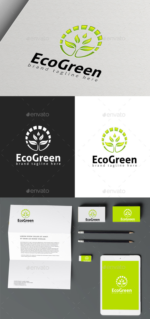 GraphicRiver Eco Green 9963462