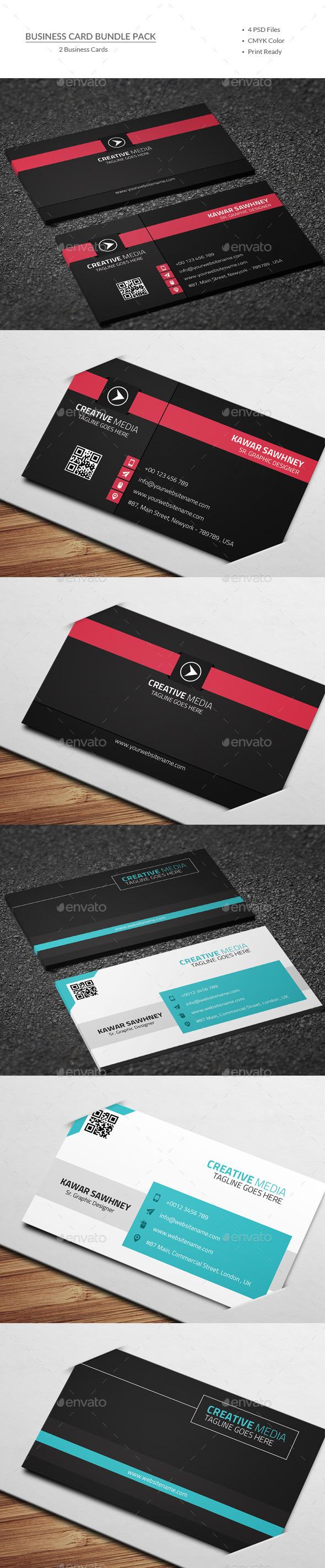 GraphicRiver Business Card Bundle 9963525