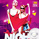 Flyer Saturday Night Crazy - GraphicRiver Item for Sale