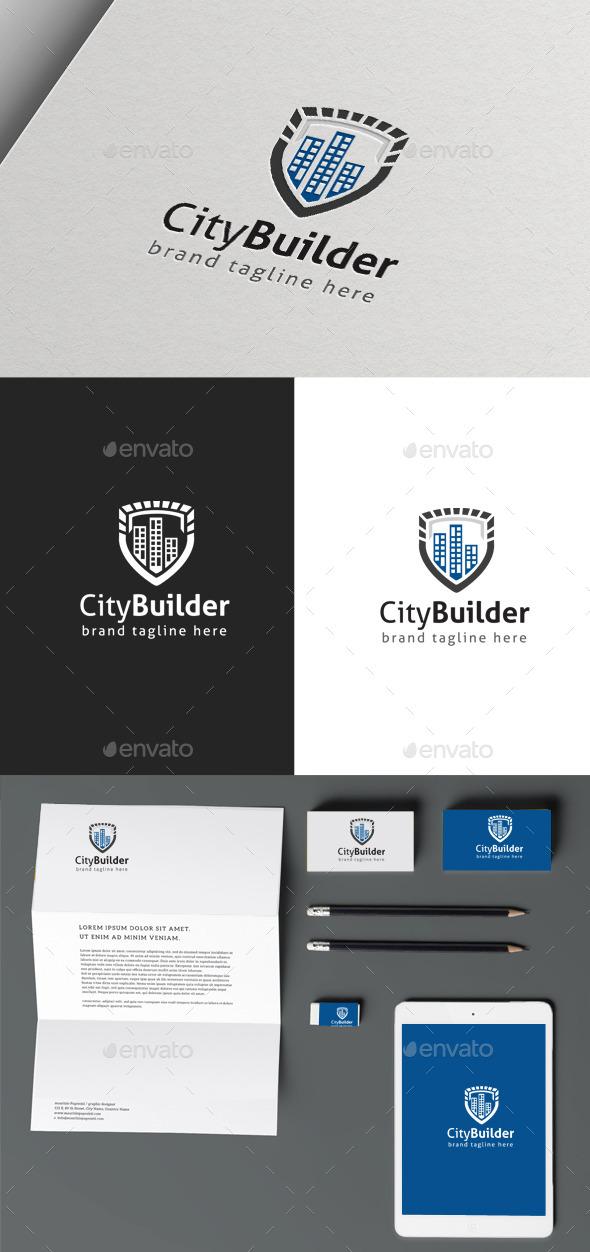 GraphicRiver City Builder Logo 9963581