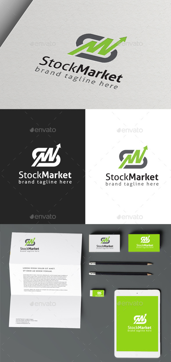 GraphicRiver Stock Market logo 9963672