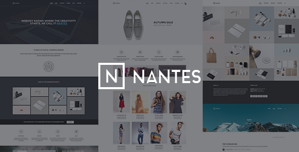 Download Nantes - Creative Ecommerce & Corporate Theme nulled download