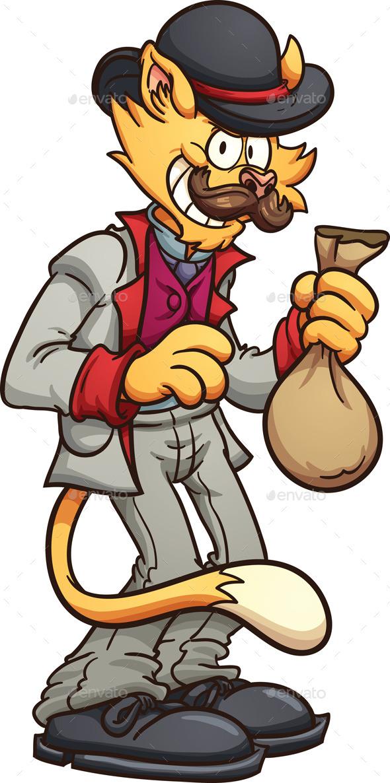 GraphicRiver Cartoon Cat 9963984