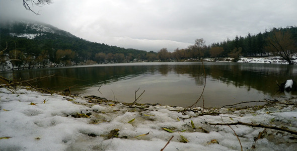 Lake in Winter 2