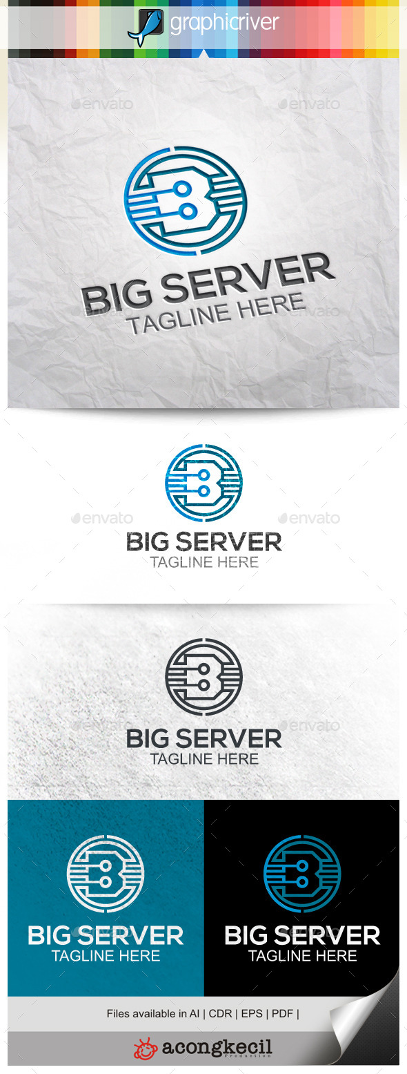 GraphicRiver Big Server V.2 9965485
