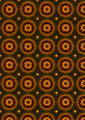 Background with Pattern of Ovals of with Beads by Circle - PhotoDune Item for Sale