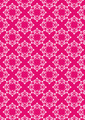 Crimson Background with White Floral Pattern - PhotoDune Item for Sale