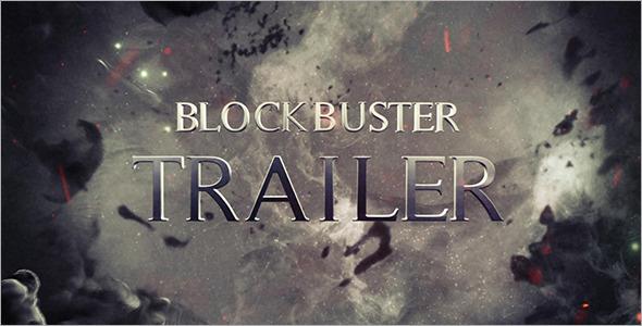 AE模板:史诗大气好莱坞动作电影预告片头开场三维烟雾效果E3D模版Blockbuster Trailer 8 免费下载