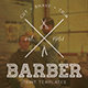 Barbershop and Tattoo Shop Flyers - GraphicRiver Item for Sale