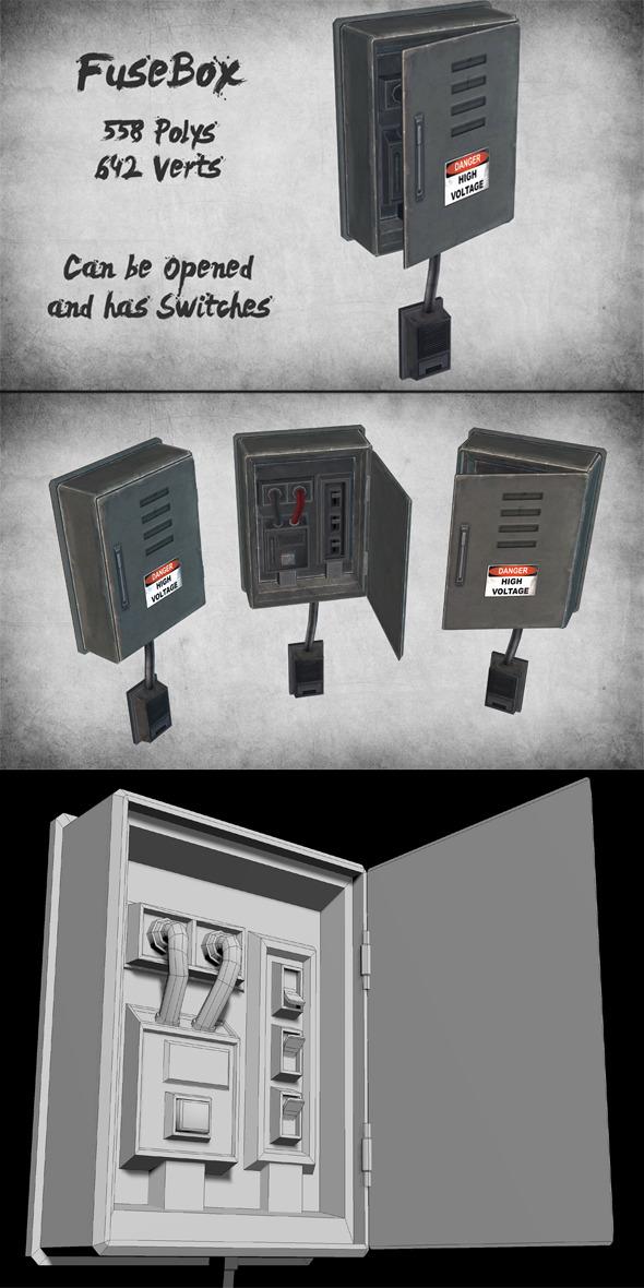 3DOcean Electric Fusebox 9965835