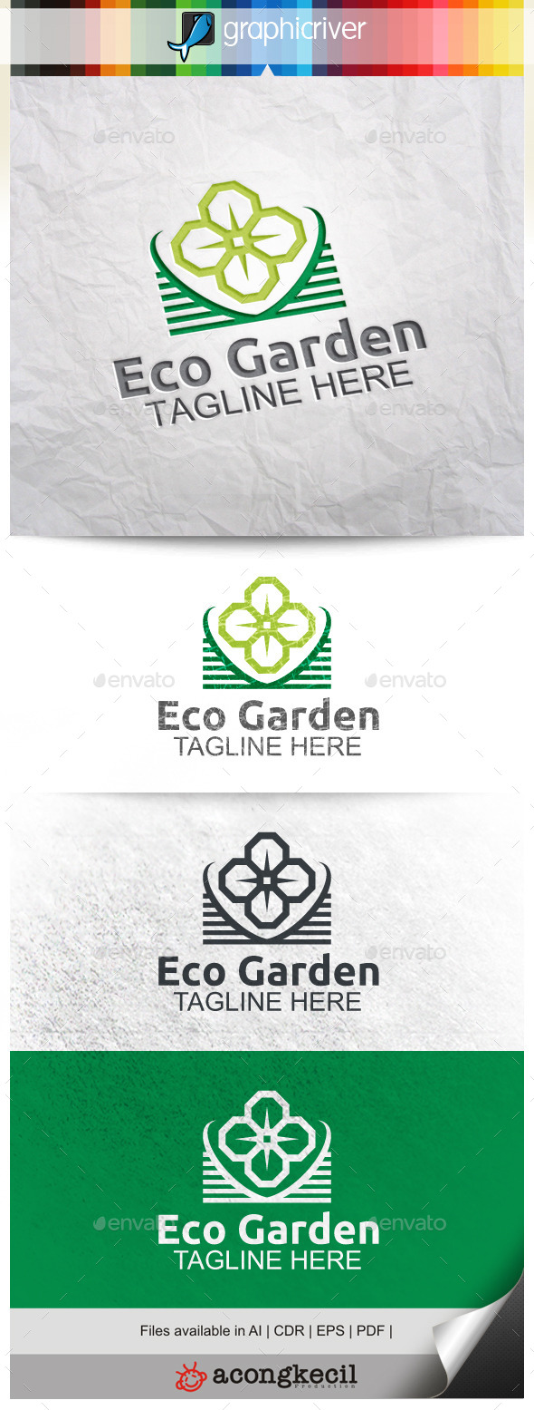 GraphicRiver Eco Garden 9966202