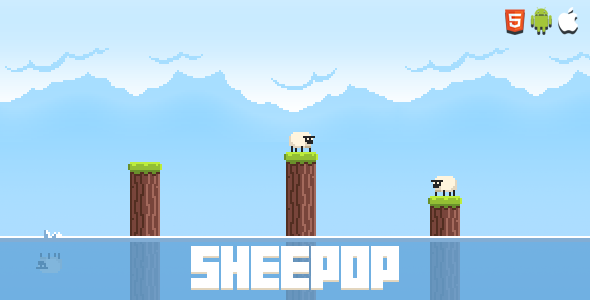 CodeCanyon Sheepop HTML5 Mobile Game 9966220