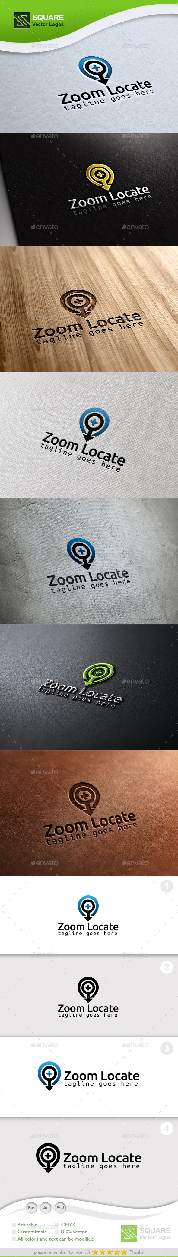 GraphicRiver Zoom Locator Custom Logo Template 9966288