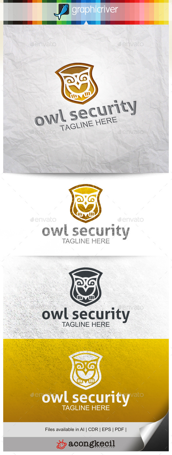 GraphicRiver Owl Security 9966310
