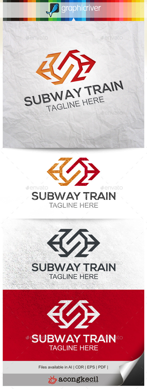 GraphicRiver Subway Train 9966316