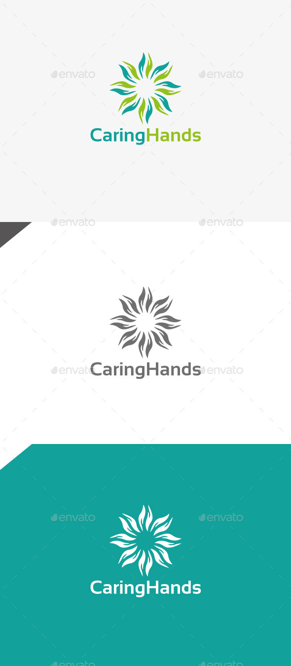 GraphicRiver Caring Hands 9966328