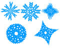 snowflakes isolated on the white background - PhotoDune Item for Sale