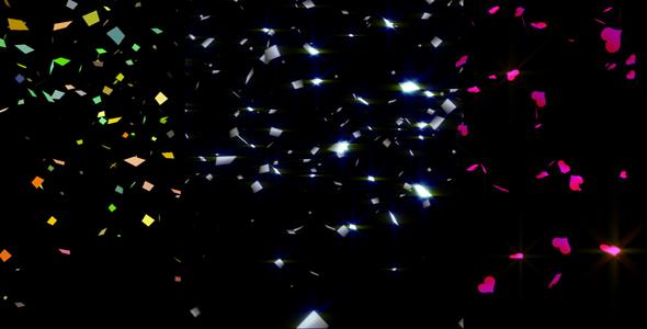 VideoHive confetti package 125361