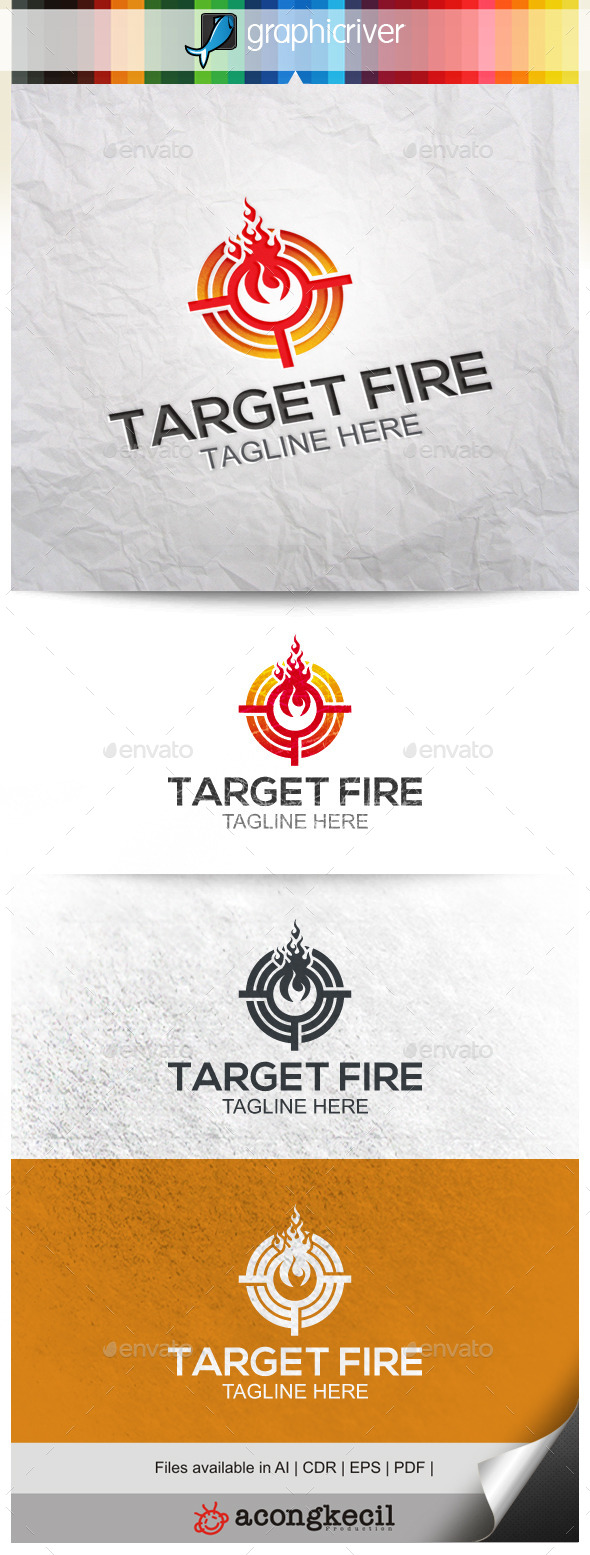 GraphicRiver Target Fire 9966367