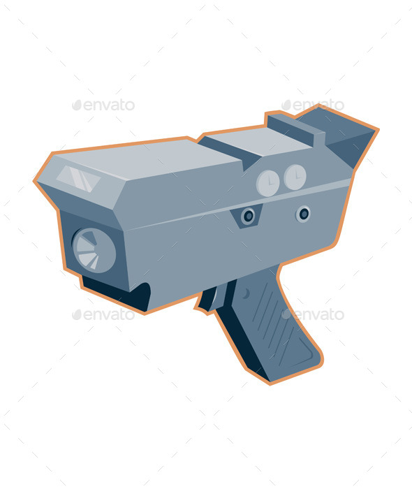GraphicRiver Radar Gun 9966722