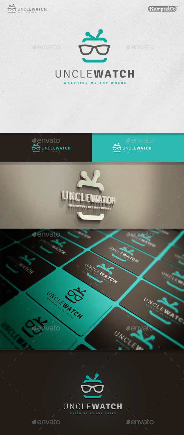 GraphicRiver Uncle Watch Logo 9937716