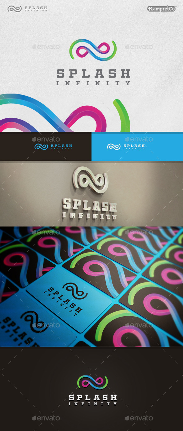 GraphicRiver Splash Infinity Logo 9937711