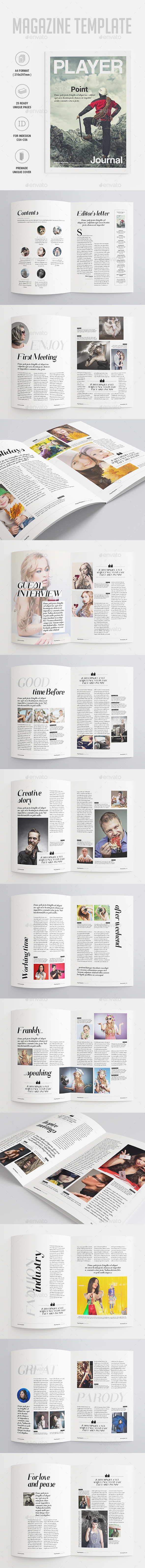GraphicRiver Magazine Template 9966826