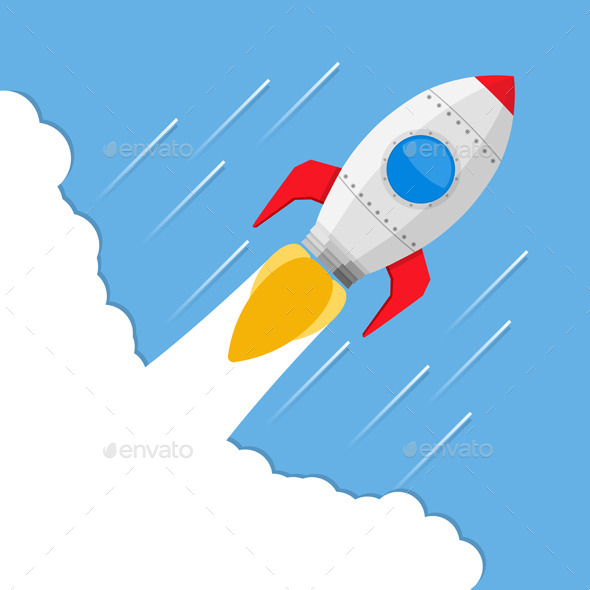 GraphicRiver Rocket 9966966