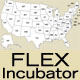 Flex USA Map Component - ActiveDen Item for Sale