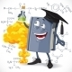 School Chemistry Textbook Hold Test-Tube - GraphicRiver Item for Sale