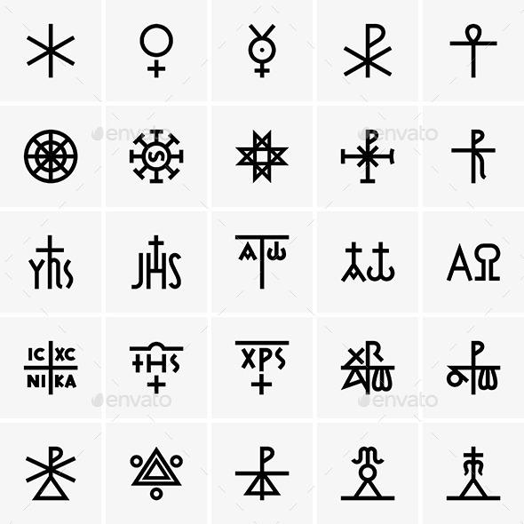 GraphicRiver Christ Symbols 9967157