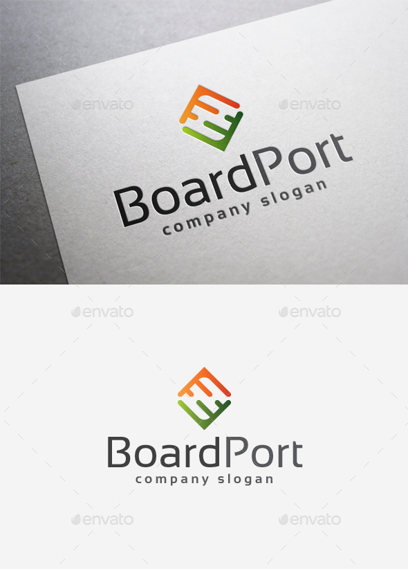 GraphicRiver Board Port Logo 9967181