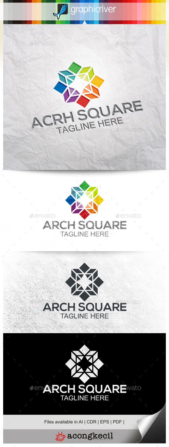 GraphicRiver Architecture Square V.3 9967216