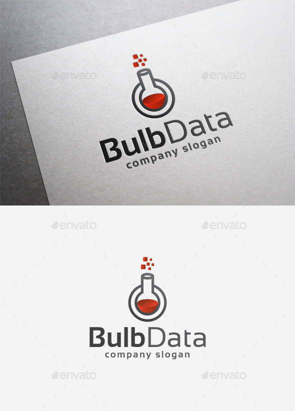 GraphicRiver Bulb Data Logo 9967271