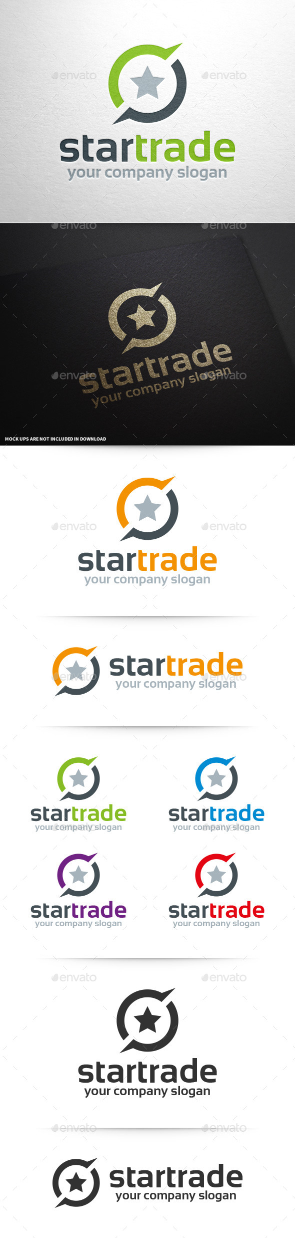 Star Trade Logo Template
