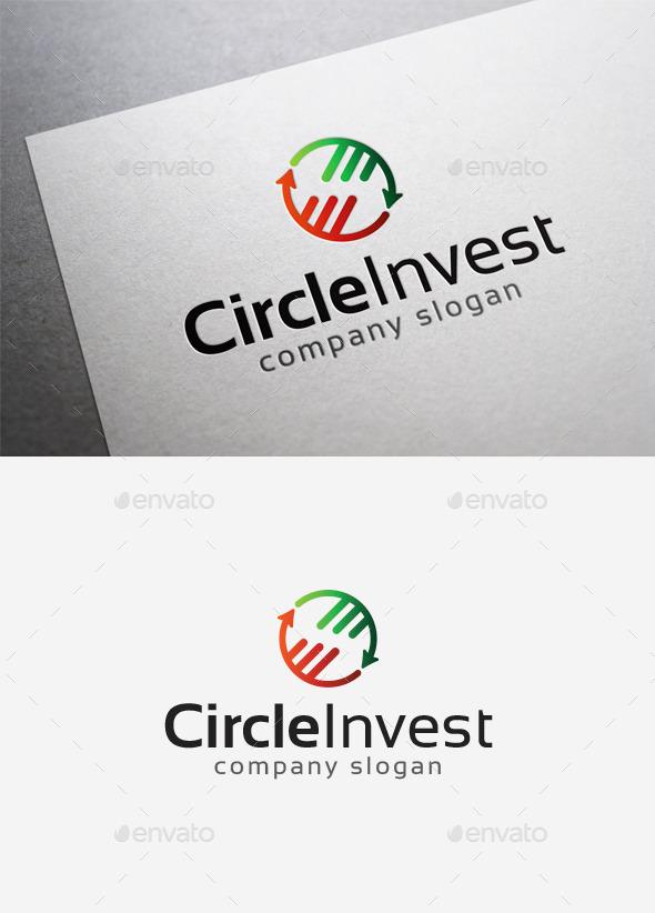 GraphicRiver Circle Invest Logo 9967389
