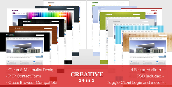 Creative theme -  Professional and Clean Business