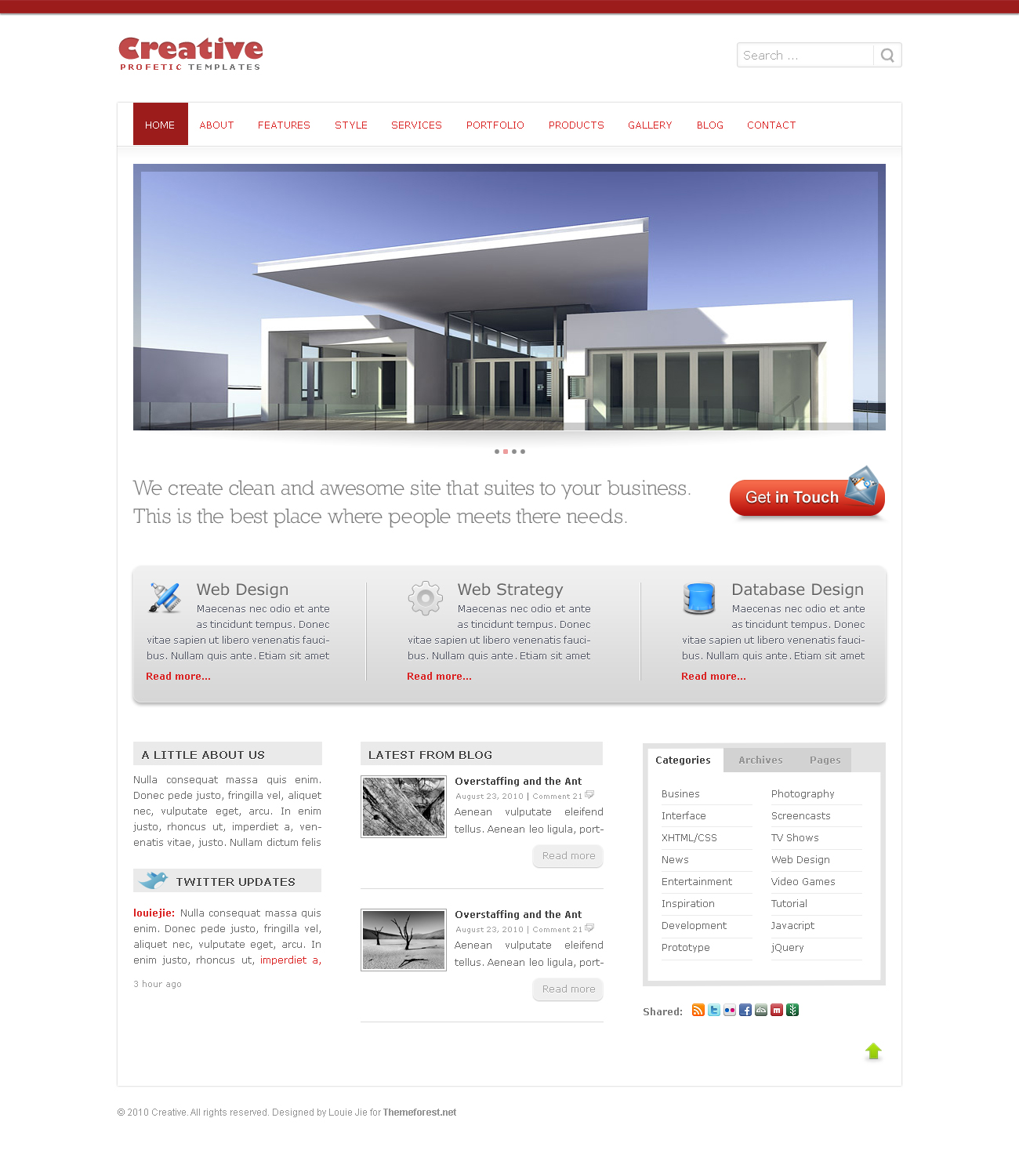 Creative theme -  Professional and Clean Business  -