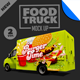 Food Truck Mock Up Kit Vol. 2 - GraphicRiver Item for Sale