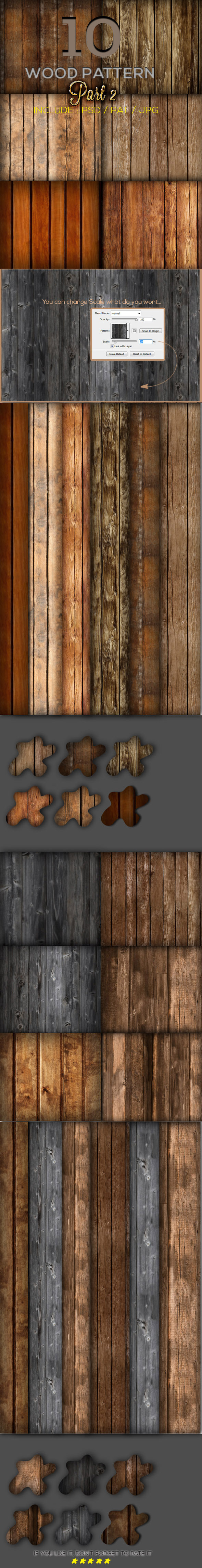 GraphicRiver 10 Wood Pattern Part 2 9967538