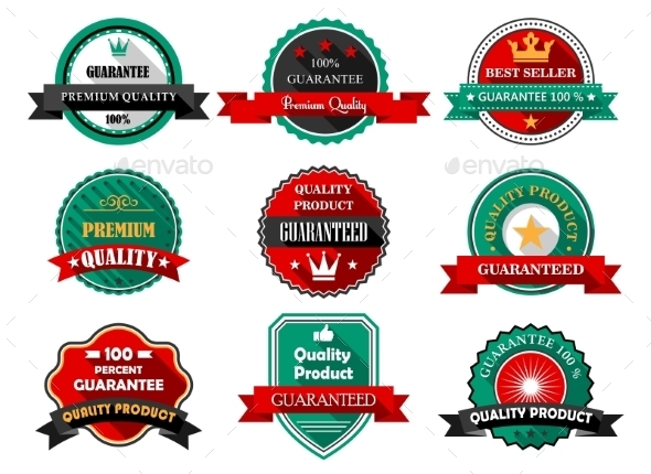GraphicRiver Guarantee Labels 9967649